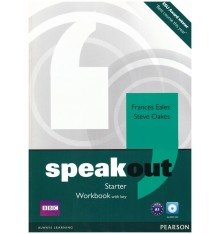 Книга Speakout Starter Workbook with Key and Audio CD Pack ISBN 9781408259535