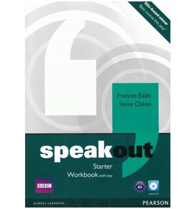 SpeakOut Starter Workbook with key