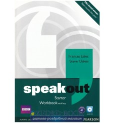 SpeakOut Starter Workbook with key
