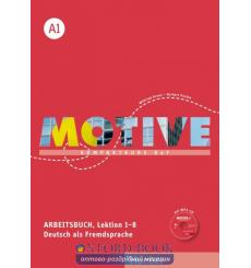 Motive A1 Arbeitsbuch, Lektion 1–8 mit MP3-Audio-CD