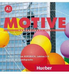 Учебник Motive A1 Audio CDs zum Kursbuch Lektion 1–8 Herbert Puchta Dr ISBN 9783190618804