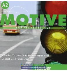 Motive A2 Audio-CDs zum Kursbuch, Lektion 9–18