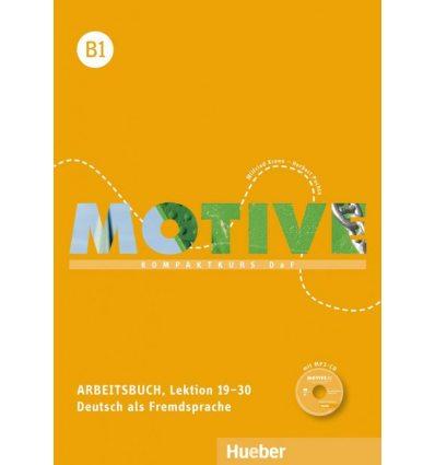Motive B1 Arbeitsbuch, Lektion 19–30 mit MP3-Audio-CD