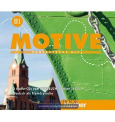 Motive B1 Audio-CDs zum Kursbuch,  Lektion 19–30