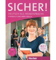 Учебник sicher b2 1 Kursbuch und arbeitsbuch mit cd ISBN 9783195012072