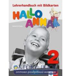 Книга для учителя Hallo Anna 2 Lehrerhandbuch + CD-ROM 9783126760652