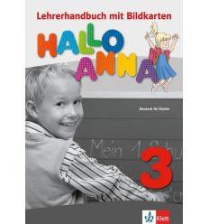 Книга для учителя Hallo Anna 3 Lehrerhandbuch + CD-ROM 9783126760683