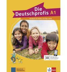 Учебник Die Deutschprofis a1 Kursbuch + Online-Hormaterial 9783126764704