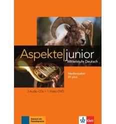 Aspekte junior Medienpaket B1+ (3 Audio-CDs + Video-DVD)