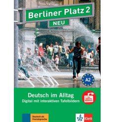 Berliner Platz 2 NEU Digital mit Interaktiven Tafelbildern CD-ROM