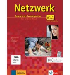 Учебник Netzwerk A1 Kursbuch und Arbeitsbuch Teil 1 + CDs + DVD ISBN 9783126061315