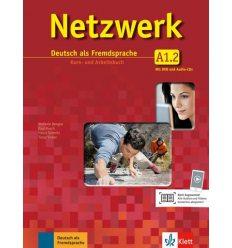 Учебник Netzwerk A1 Kursbuch und Arbeitsbuch Teil 2 + CDs + DVD ISBN 9783126061322