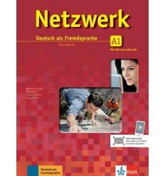Учебник Netzwerk A1 Kursbuch + 2 Audio-CDs + DVD ISBN 9783126061292