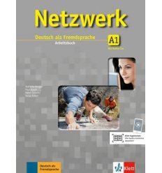 Рабочая тетрадь Netzwerk A1 Arbeitsbuch + 2 Audio-CDs ISBN 9783126061308