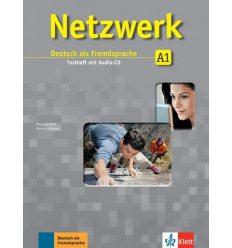 Тетрадь для тестов Netzwerk A1 Testheft mit Audio-CD ISBN 9783126061414