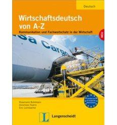 Учебник Wirtschaftsdeutsch von A - Z (B1-B2) Lehrbuch ISBN 9783126061858
