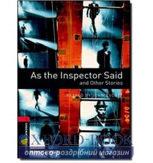 Oxford Bookworms Library 3rd Edition 3 As the Inspector Said & Other Stories