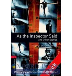 Oxford Bookworms Library 3rd Edition 3 As the Inspector Said & Other Stories + Audio CD 9780194792929 купить Киев Украина