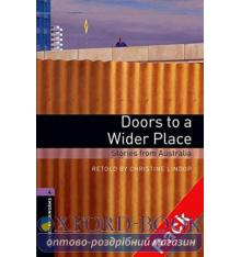 Oxford Bookworms Library 3rd Edition 4 Doors to a Wider Place. Stories from Australia + Audio CD