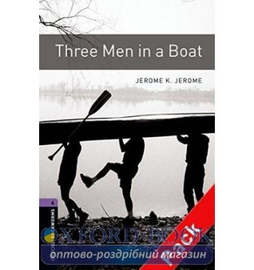 Oxford Bookworms Library 3rd Edition 4 Three Men in a Boat + Audio CD