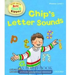 Книга Oxford Reading Tree Read with Biff, Chip and Kipper 1 Chips Letter Sounds ISBN 9780198486169 купить Киев Украина