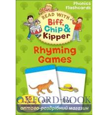 Oxford Reading Tree Read with Biff, Chip and Kipper: Rhyming Games Flashcards