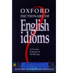 Книга Oxford Dictionary of English Idioms ISBN 9780194312875