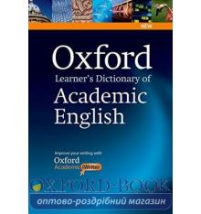 Oxford Learners Dictionary of Academic English + CD-ROM ISBN 9780194333504