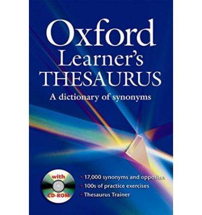 Oxford Learner's Thesaurus + CD-ROM