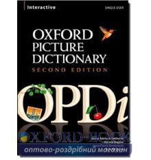 Oxford Picture Dictionary 2nd Edition CD-ROM ISBN 9780194740258