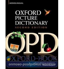 Oxford Picture Dictionary 2nd Edition Monolingual English
