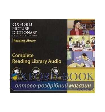 Oxford Picture Dictionary 2nd Edition Reading Library Audio CDs