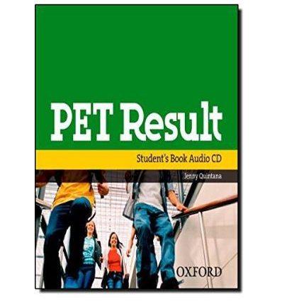 PET Result Audio CD