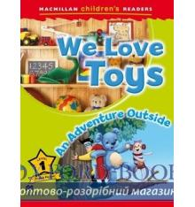 Книжка Macmillan Childrens Readers 1 We Love Toys/ An Adventure Outside ISBN 9780230443655