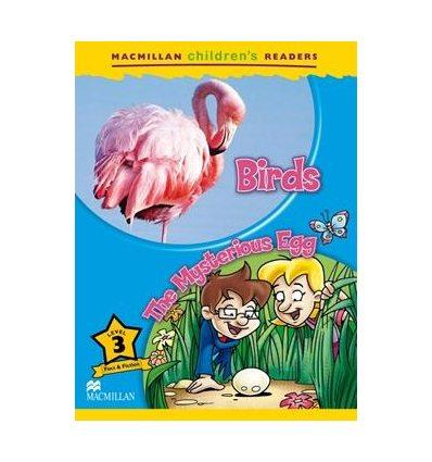 Книжка Macmillan Childrens Readers 3 Birds/ The Mysterious Egg ISBN 9780230010123
