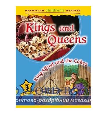 Книжка Macmillan Childrens Readers 3 Kings and Queens/ King Alfred and the Cakes ISBN 9780230443693