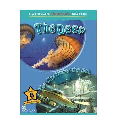 Книжка Macmillan Childrens Readers 6 The Deep/ The City under the Sea ISBN 9780230405066