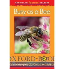 Книжка Macmillan Factual Readers 1+ Busy as a Bee ISBN 9780230432055