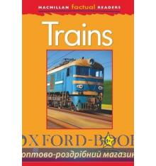 Книжка Macmillan Factual Readers 1+ Trains ISBN 9780230432024