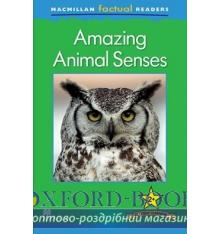 Книжка Macmillan Factual Readers 2+ Amazing Animal Senses ISBN 9780230432062