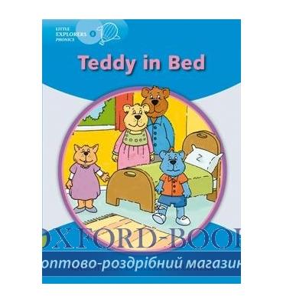 Macmillan Explorers Phonics B Teddy in Bed