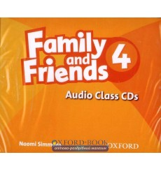 Family & Friends 4: Class Audio CDs (3)