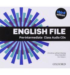 English File 3rd Edition Pre-Intermediate: Class Audio CDs (5)