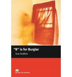 Macmillan Readers Intermediate B is for Burglar