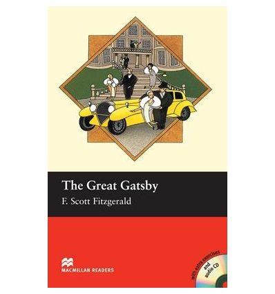 Macmillan Readers Intermediate The Great Gatsby + Audio CD + extra exercises