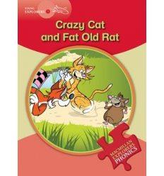 Книжка Macmillan Explorers Phonics 1 Crazy Cat and Fat Old Rat ISBN 9780230404762