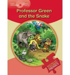 Книжка Macmillan Explorers Phonics 1 Professor Green and the Snake ISBN 9780230404779
