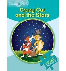 Книжка Macmillan Explorers Phonics 2 Crazy Cat and the Stars ISBN 9780230404816