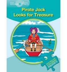 Книжка Macmillan Explorers Phonics 2 Pirate Jack Looks for Treasure ISBN 9780230404823