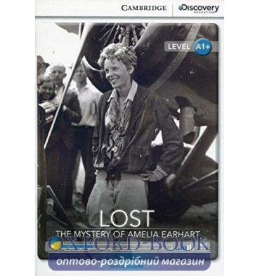 Книжка Cambridge Discovery A1+ Lost: The Mystery of Amelia Earhart (Book with Online Access) ISBN 9781107693357